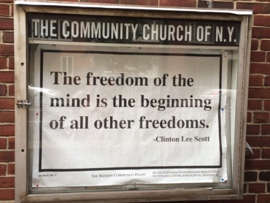 Freedom of the Mind